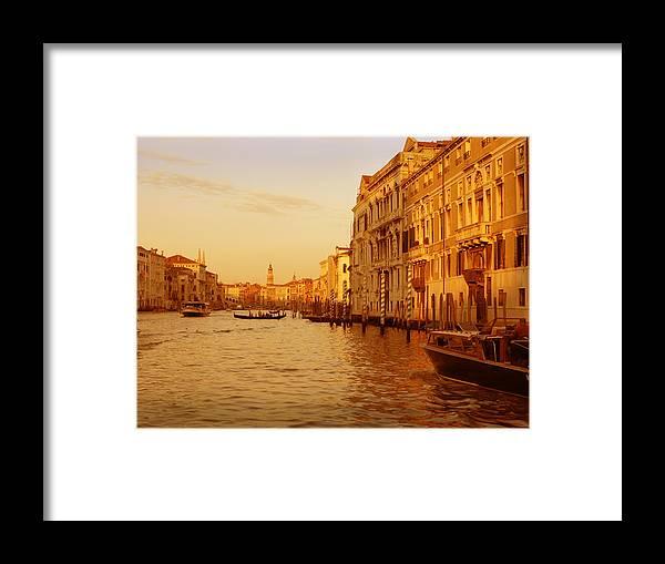 Venezia Framed Print featuring the photograph Venice Viii by Rodika George