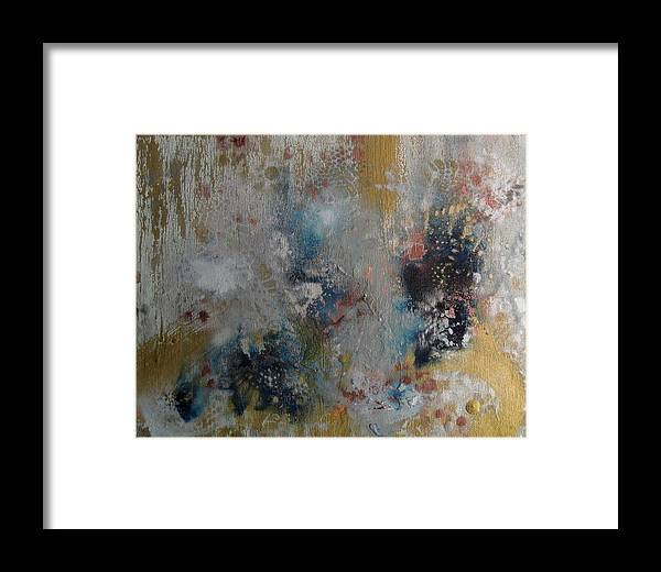 Abstract Framed Print featuring the painting Venom Of Sleep by Kyle Ethan Fischer
