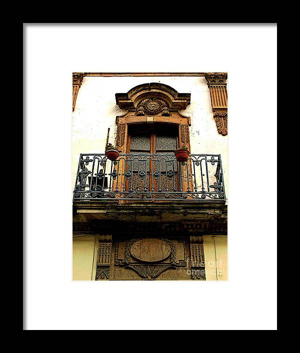 Darian Day Framed Print featuring the photograph Ventana Grande by Mexicolors Art Photography