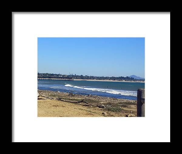 Beach Framed Print featuring the photograph Ventura Pier 2 by Robin Hernandez