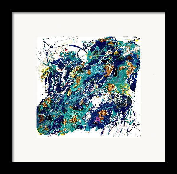 Abstract Framed Print featuring the painting Venus by Irma Hinghofer-Szalkay