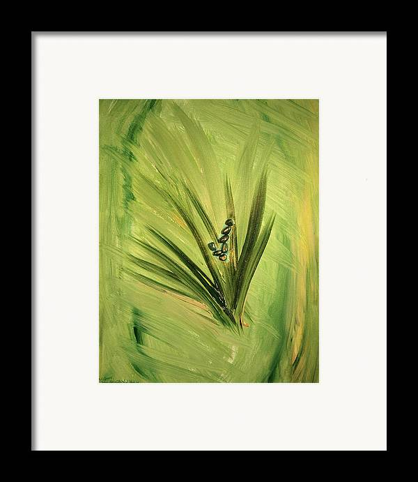 Fairy Framed Print featuring the painting Ver Vi An by Emerald GreenForest