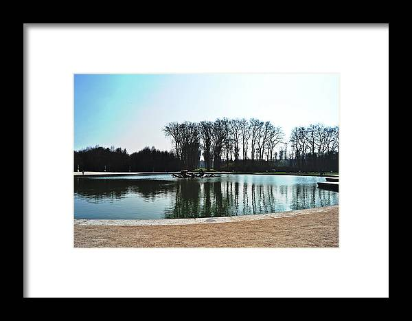 Versailles Framed Print featuring the photograph Versailles Park by HazelPhoto