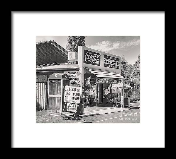 Delicatessens Framed Print featuring the photograph Guildford Wa. Deli And Lunch Bar by Hans Peter Goepel