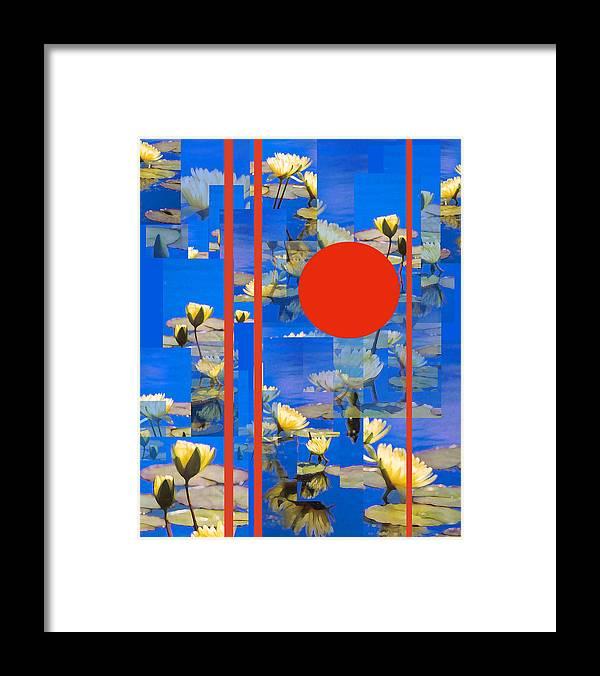 Flowers Framed Print featuring the photograph Vertical Horizon by Steve Karol