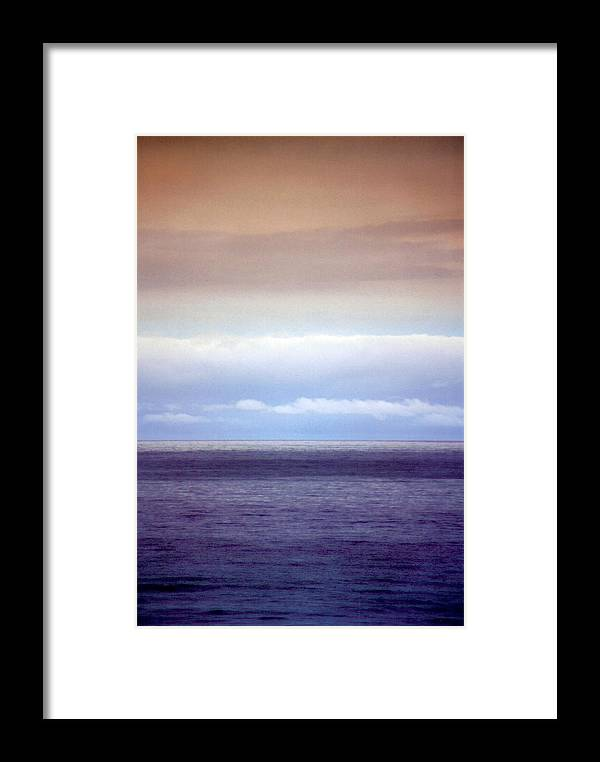 Landscape Framed Print featuring the photograph Vertical Number 10 by Sandra Gottlieb