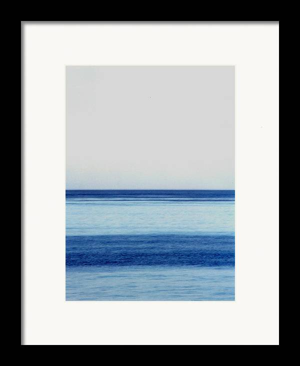 Landscape Framed Print featuring the photograph Vertical Number 14 by Sandra Gottlieb