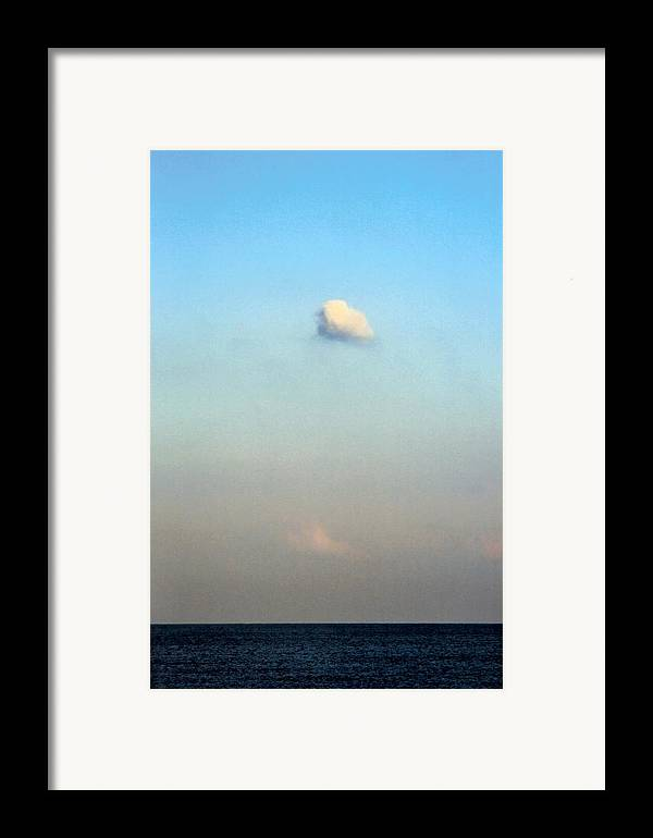 Landscape Framed Print featuring the photograph Vertical Number 16 by Sandra Gottlieb