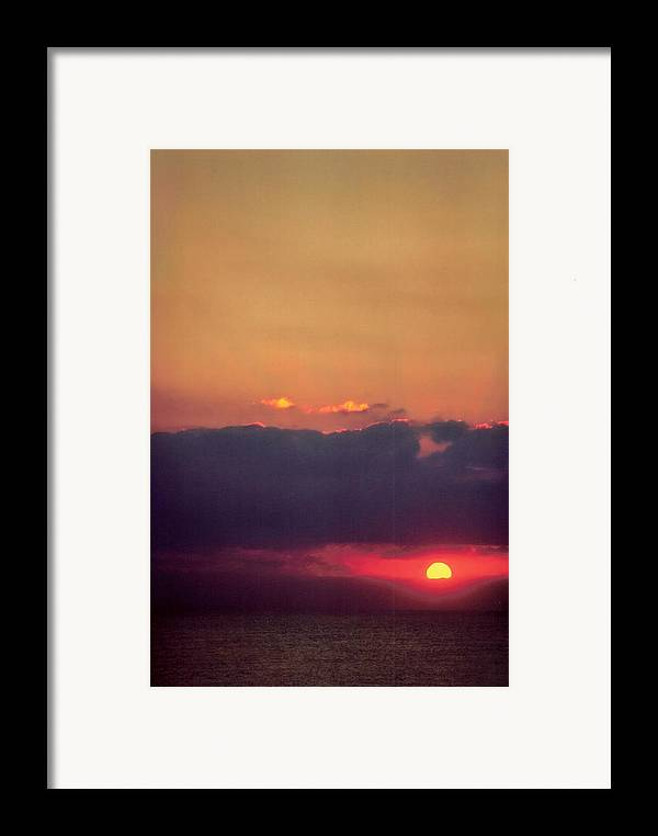 Landscape Framed Print featuring the photograph Vertical Number 17 by Sandra Gottlieb