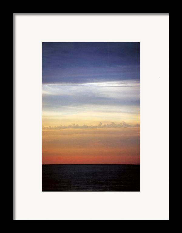Landscape Framed Print featuring the photograph Vertical Number 9 by Sandra Gottlieb