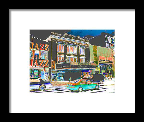 Harlem Framed Print featuring the photograph Victoria Theater 125th St Nyc by Steven Huszar
