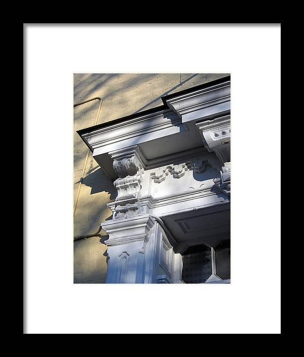 Victorian Framed Print featuring the photograph Victorian Details by Sean Owens