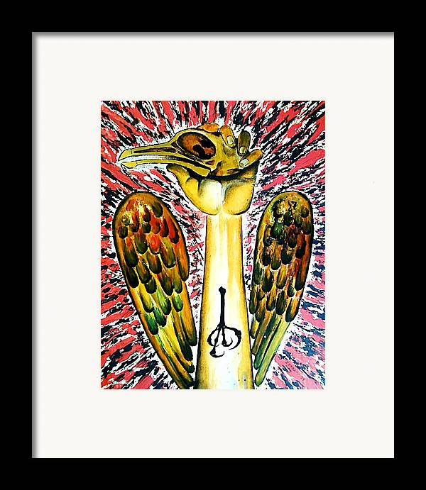 Victory Of Perseverance Framed Print featuring the digital art Victory Of Perseverance by Paulo Zerbato