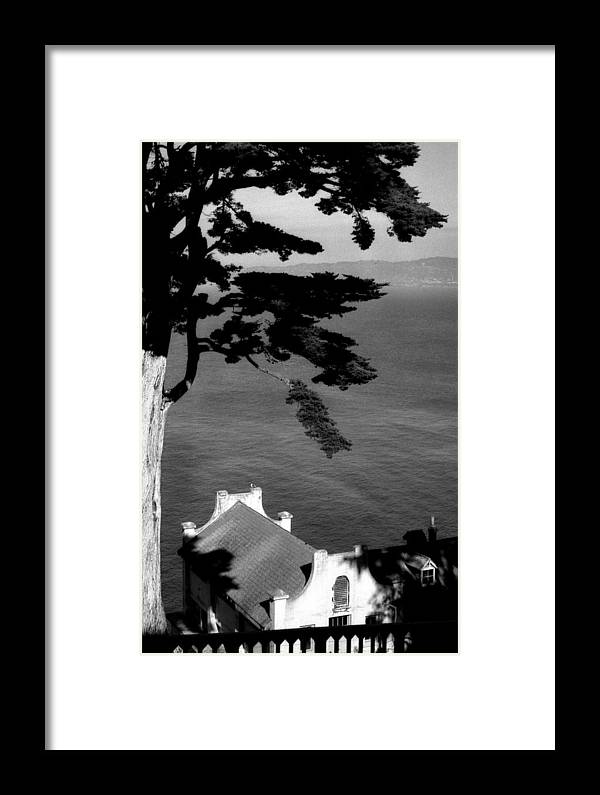 Alcatraz Framed Print featuring the photograph View From Alcatraz by Todd Fox