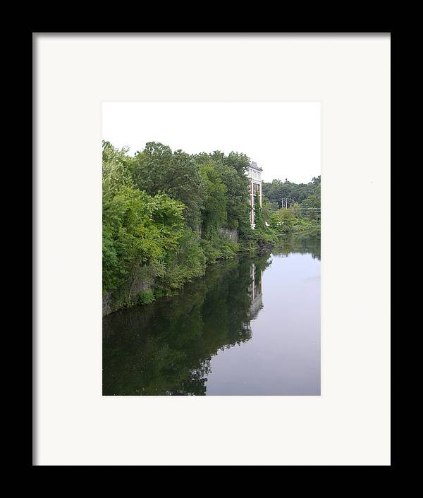 River View Framed Print featuring the photograph View From Chimera by Nancy Ferrier