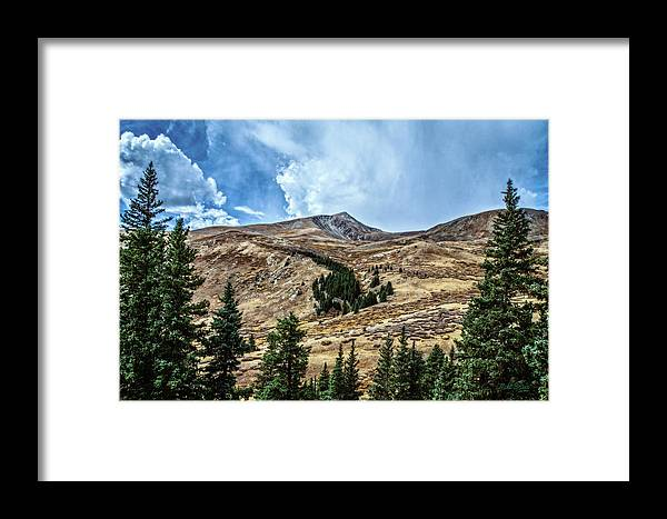 Colorado Framed Print featuring the photograph View From Guanella Pass Road by Mike Braun