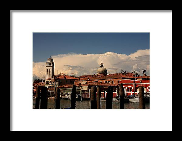 Venice Framed Print featuring the photograph View Of San Pietro In Venice by Michael Henderson