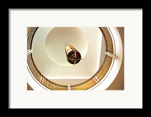 Interior Framed Print featuring the photograph Viewpoint by Nicole I Hamilton