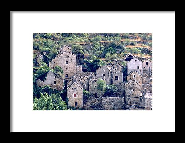 Village Framed Print featuring the photograph Village by Flavia Westerwelle