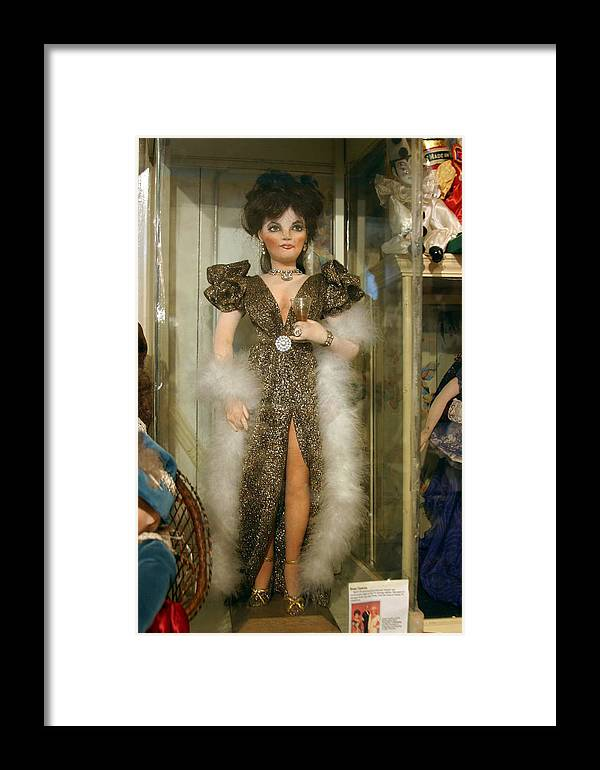 Photographer Framed Print featuring the photograph Vina Cooke Dolls 18 by Jez C Self