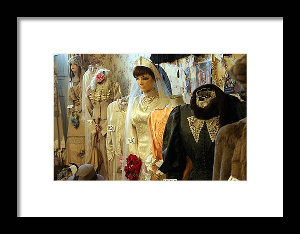Photographer Framed Print featuring the photograph Vina Cooke Dolls 30 by Jez C Self