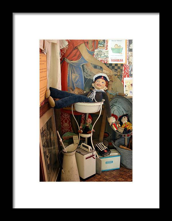 Photographer Framed Print featuring the photograph Vina Cooke Dolls 62 by Jez C Self