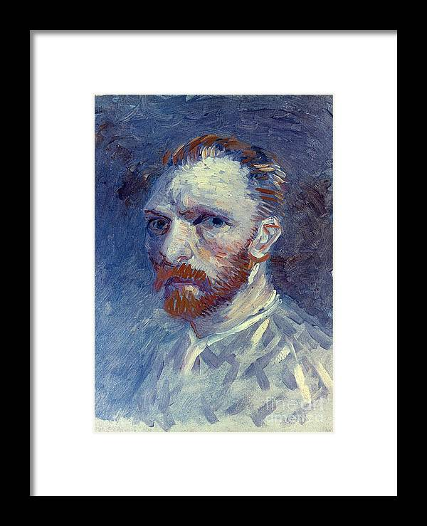 1887 Framed Print featuring the photograph Vincent Van Gogh by Granger