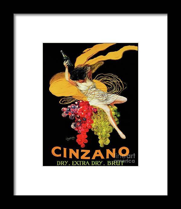 eb63ea8c22e Vintage Framed Print featuring the painting Vintage Art Nouveau Poster
