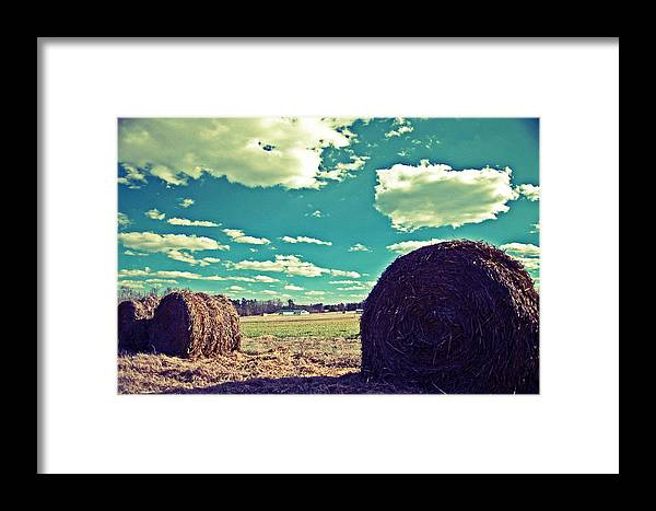 Vintage Framed Print featuring the photograph Vintage Hey by Maureen Norcross