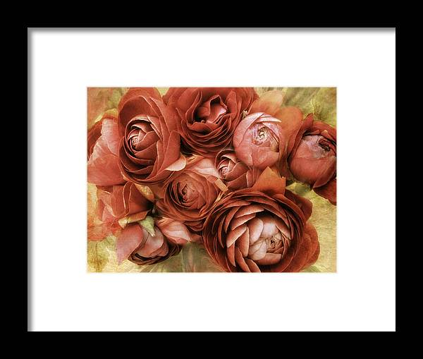 Flowers Framed Print featuring the photograph Vintage Spring by Jessica Jenney