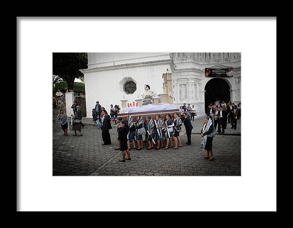 Antigua Guatemala Framed Print featuring the photograph Virgen De La Concepcion - Ciudad Vieja Guatemala by Totto Ponce