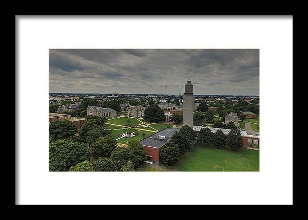 Richmond Framed Print featuring the photograph Virginia Union by Tredegar DroneWorks