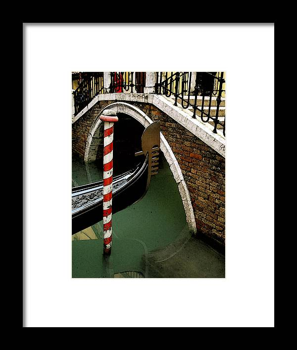 Italy Framed Print featuring the photograph Visions Of Venice 1. by Nancy Bradley