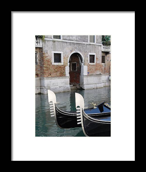 Italy Framed Print featuring the photograph Visions Of Venice 3. by Nancy Bradley