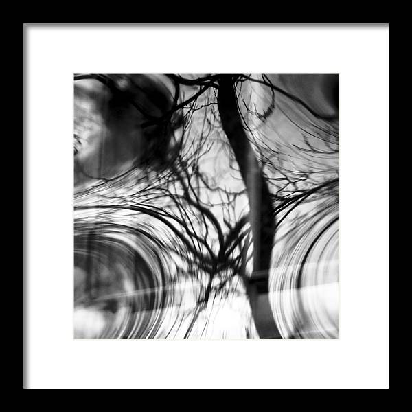 Abstracts Framed Print featuring the photograph Visual Funk 1 by Linda McRae