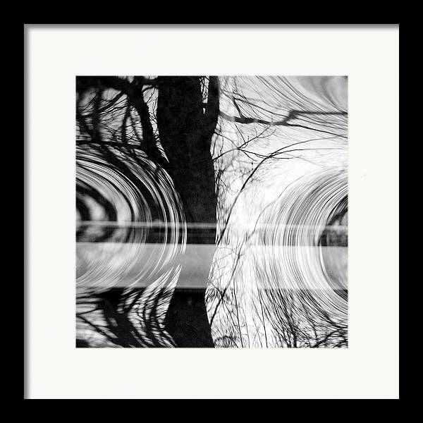 Abstracts Framed Print featuring the photograph Visual Funk 2 by Linda McRae