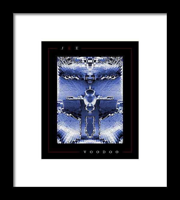 Voodoo Framed Print featuring the photograph Voodoo by Jonathan Ellis Keys