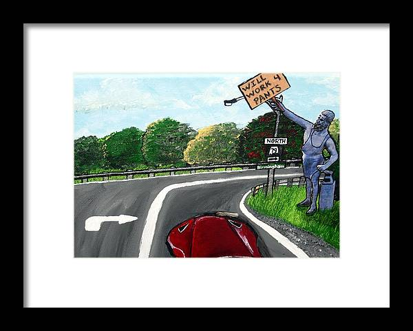 Vulcan Framed Print featuring the mixed media Vulcans Venture by Sharon Supplee
