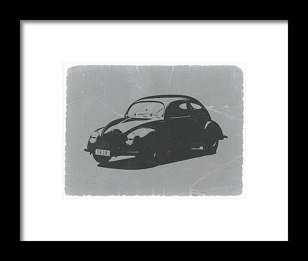 Vw Beetle Framed Print featuring the photograph VW Beetle by Naxart Studio