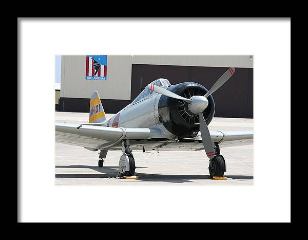Airplane Framed Print featuring the photograph Wafb 09 T-6 Tora 101 Zero 7 by David Dunham