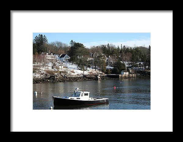 Landscape Framed Print featuring the photograph Waiting by Doug Mills
