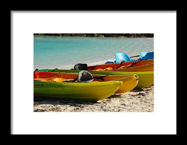 Islands Framed Print featuring the photograph Waiting For Play by Lori Mellen-Pagliaro