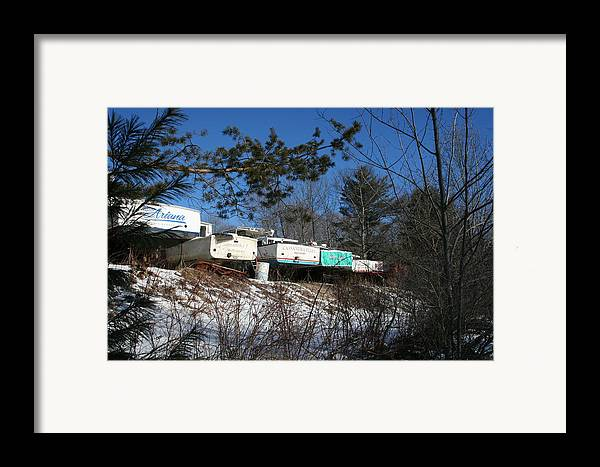 Landscape Framed Print featuring the photograph Waiting For Spring by Doug Mills