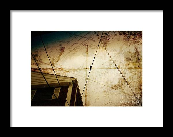 Wire Framed Print featuring the photograph Waiting On The Line by Jason Williams