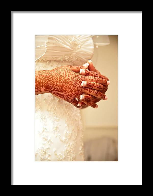 Henna Framed Print featuring the photograph Waiting by Pauline Cutler