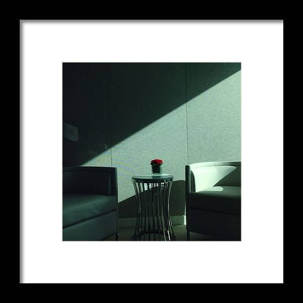 Miami Framed Print featuring the photograph Waiting Room, Greenberg-traurig by Juan Silva