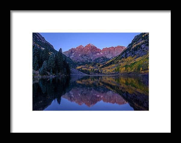 Aspen Framed Print featuring the photograph Wake-up Call by Ryan Moyer