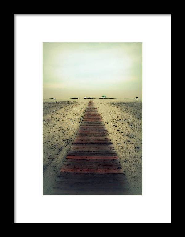 Nature Framed Print featuring the photograph Walk With Me by Linda Sannuti