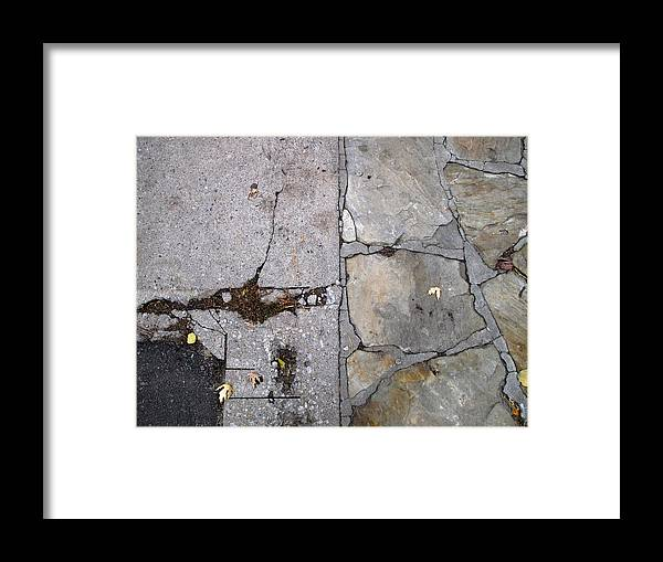 Urban Framed Print featuring the photograph Walkways by Lyle Crump