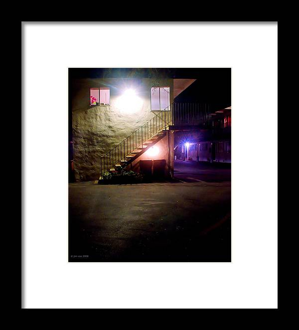 Photo Framed Print featuring the photograph Wall 2 by Jim Coe